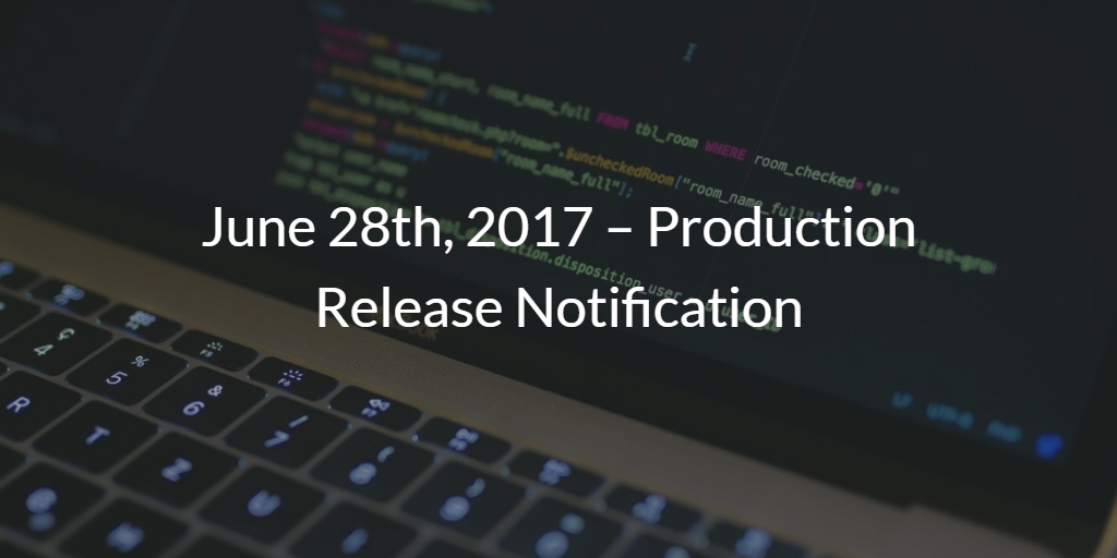 Production Notes Engineering