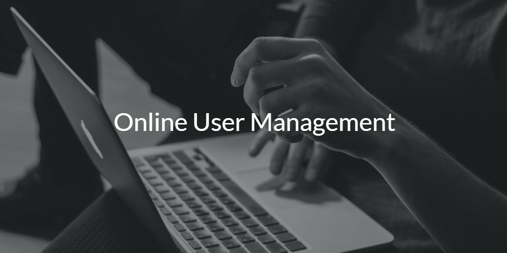 Online User Management Cloud