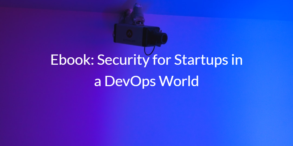 Security for Startups DevOps