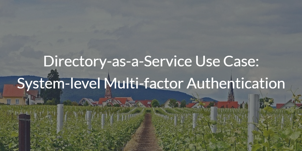 System-level Multi-factor Authentication