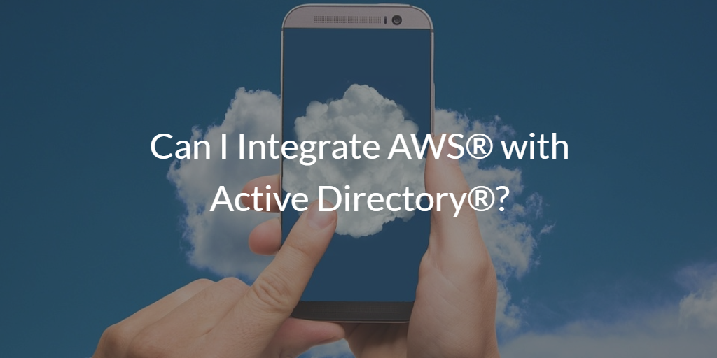 Integrate AWS with Active Directory