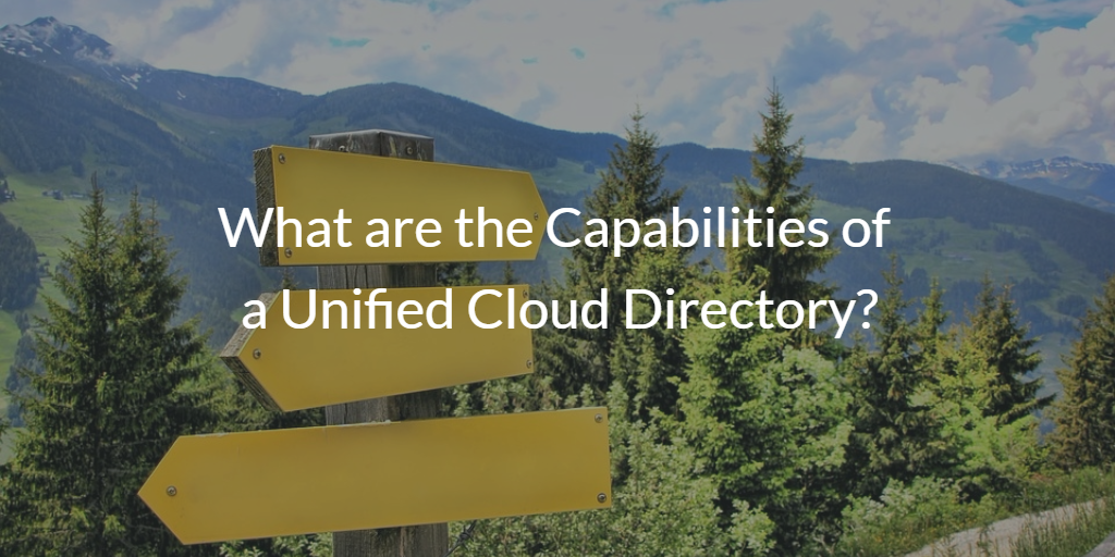 Unified Cloud Directory