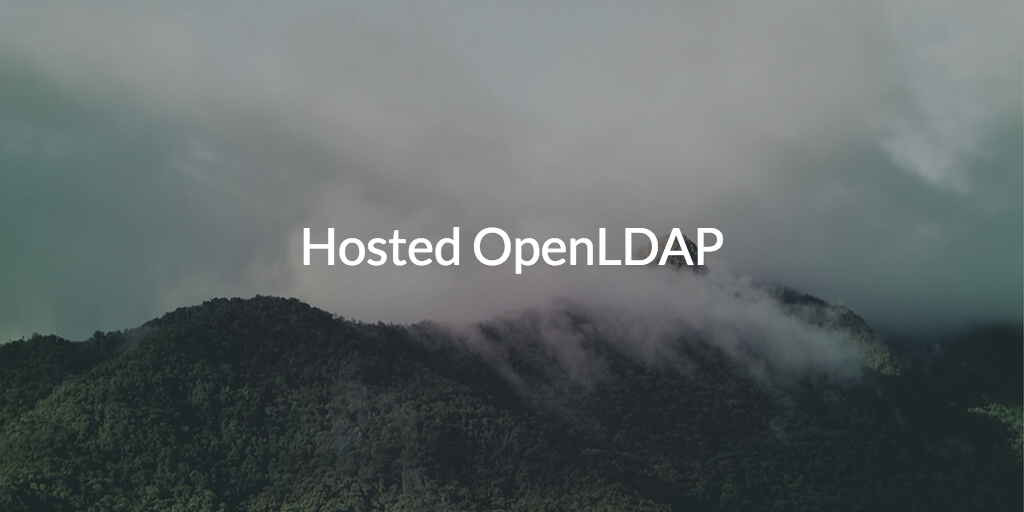 Hosted OpenLDAP