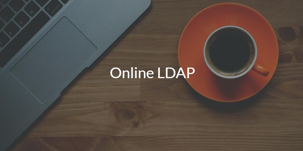 Online LDAP