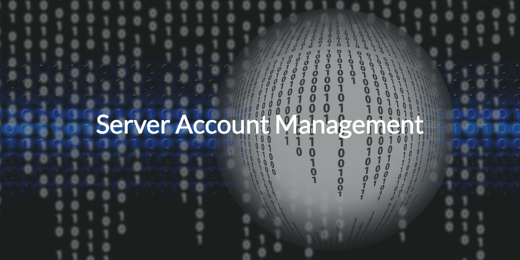 server account management directory-as-a-service