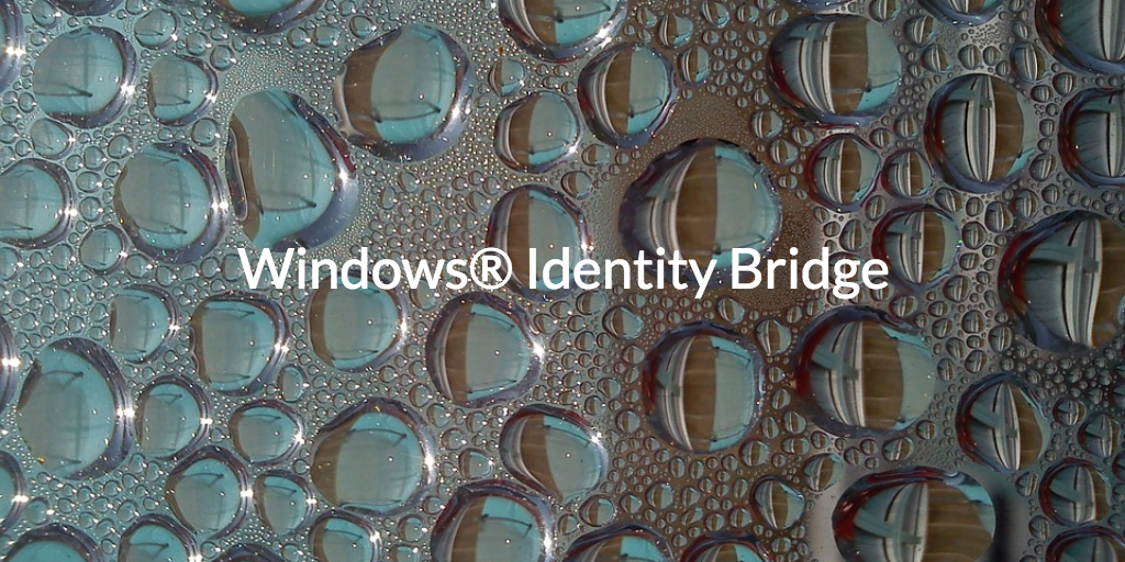 windows identity bridge
