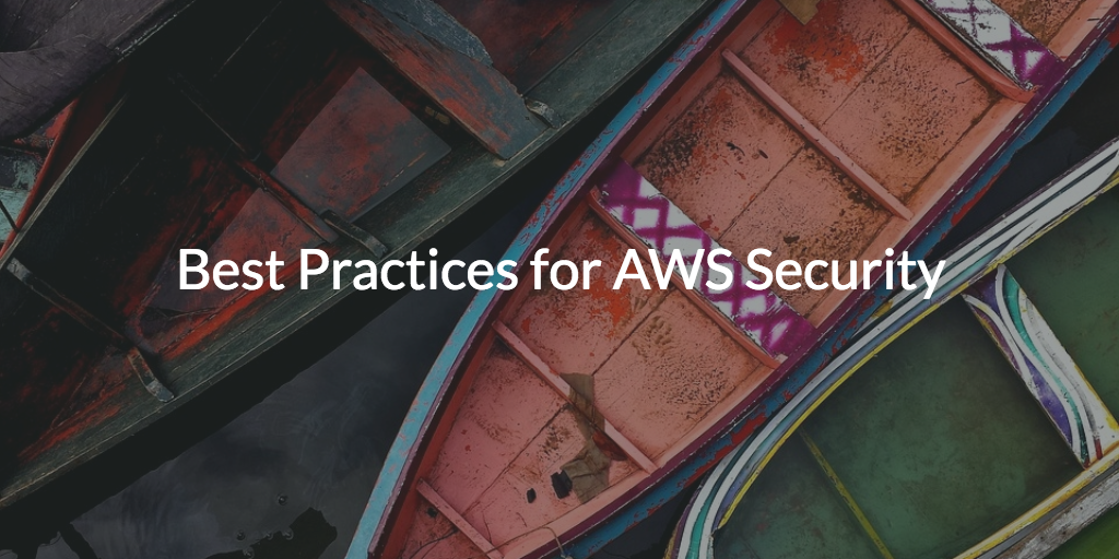 best practices aws security
