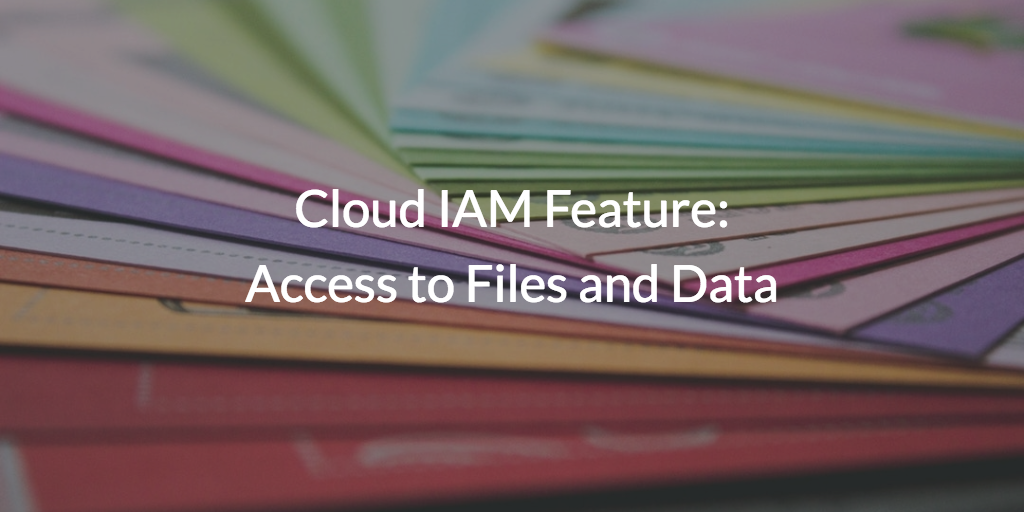 Access Files and Data