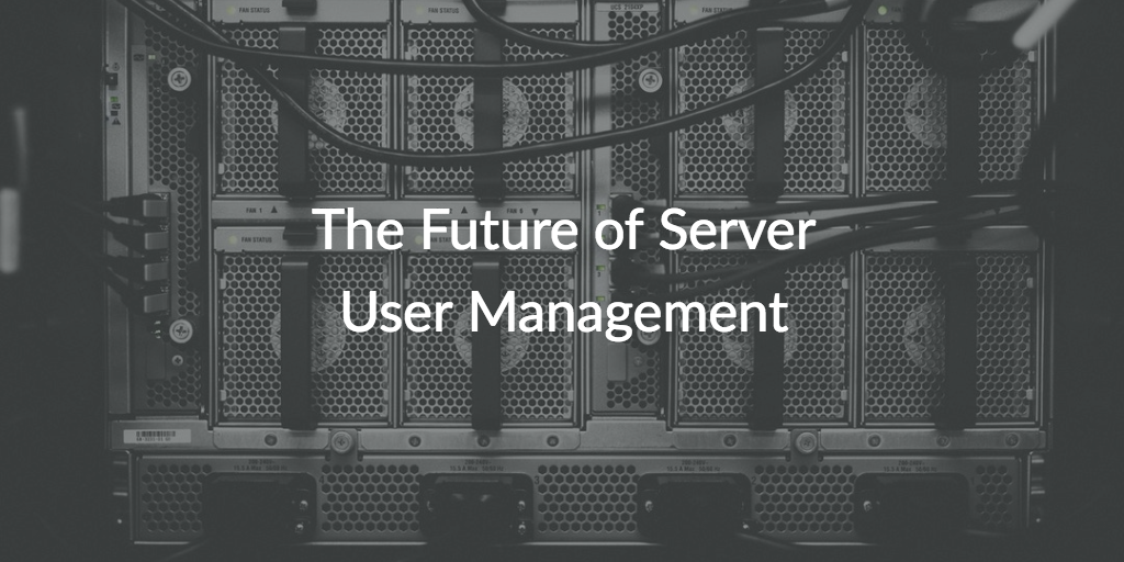 server user management
