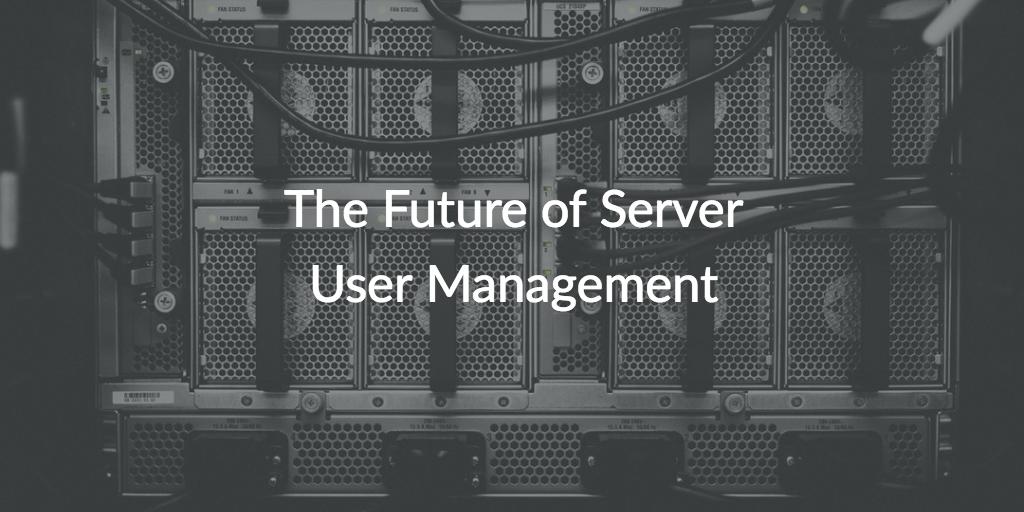 server user management