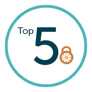 top 5 security practices