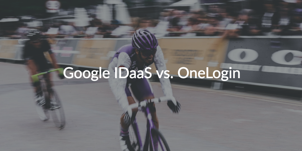 google cloud identity onelogin