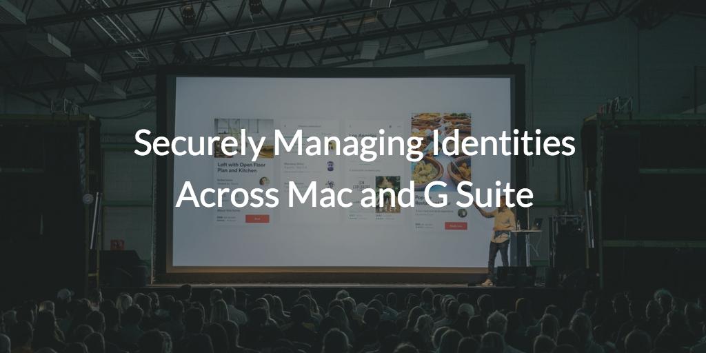 Managing Identities