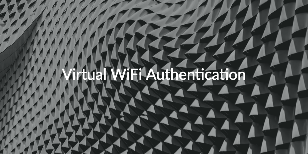 virtual WiFi authentication