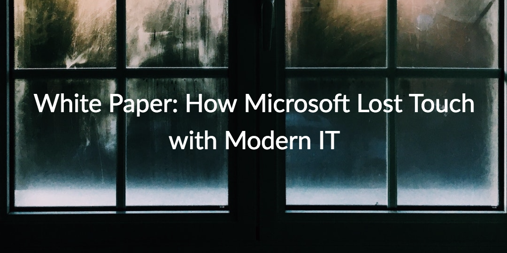 microsoft modern IT