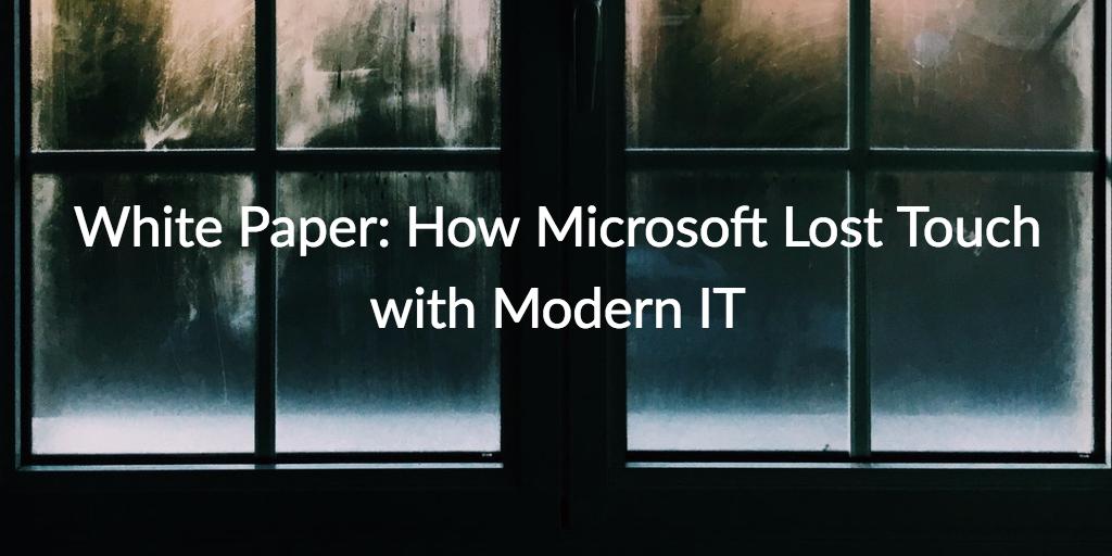 microsoft modern IT
