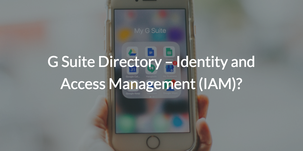 G Suite Directory
