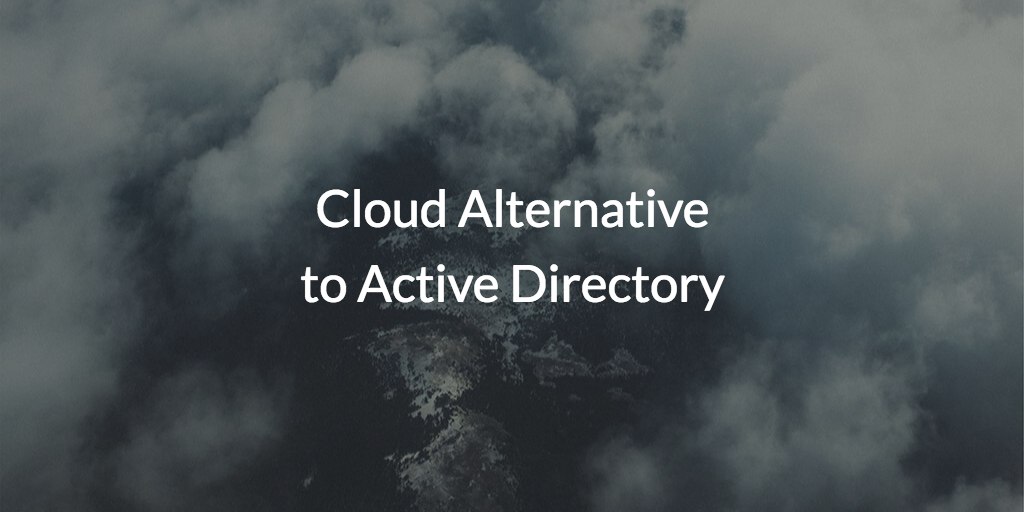 cloud alternative to active directory