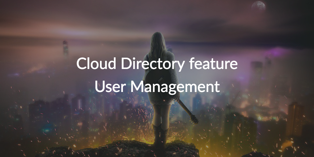 cloud directory feature user management