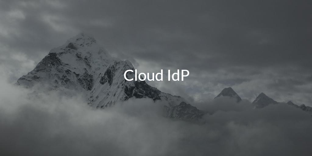 Cloud IdP