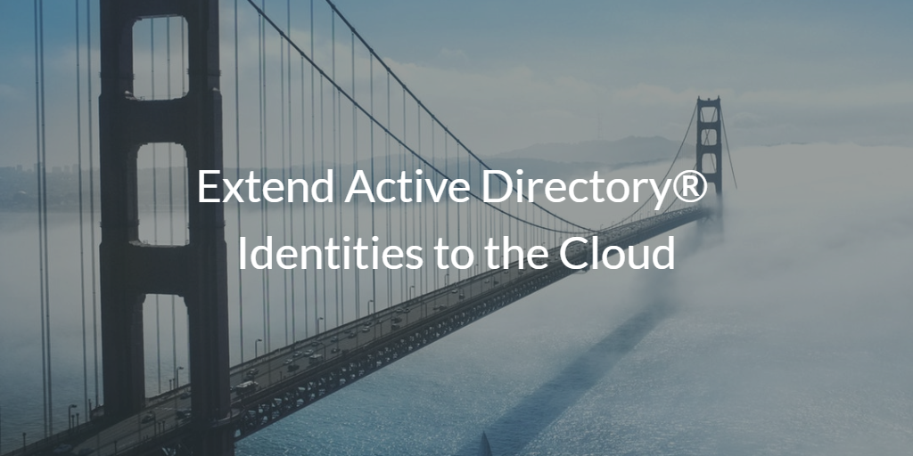 extend active directory identities