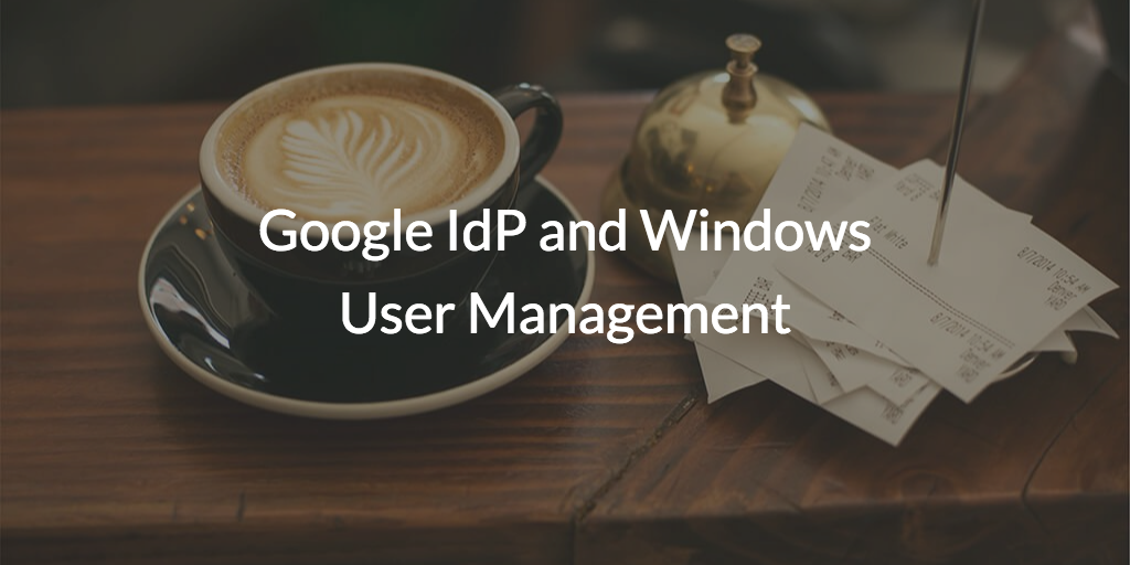 windows user management