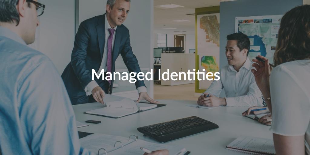 managed identities