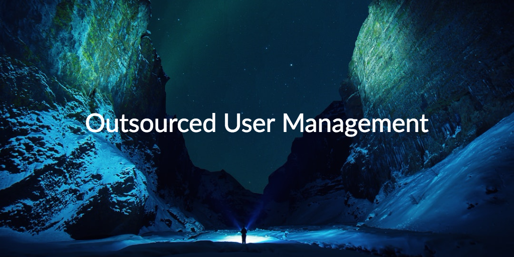 outsourced user management