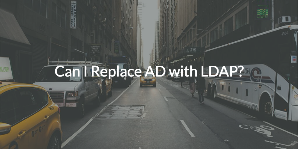 replace ad with ldap