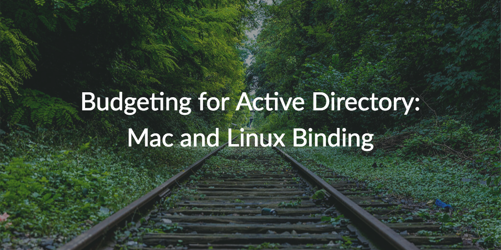 mac linux binding active directory
