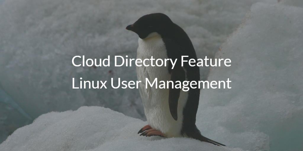 Cloud Directory Feature Linux User Management