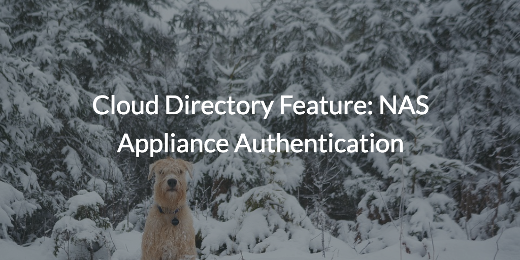 NAS Appliance Authentication