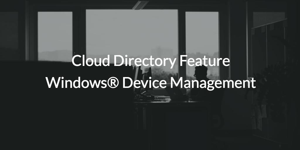 windows device management