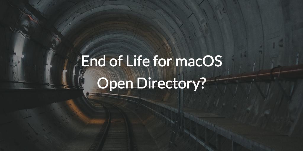 macOS Open Directory