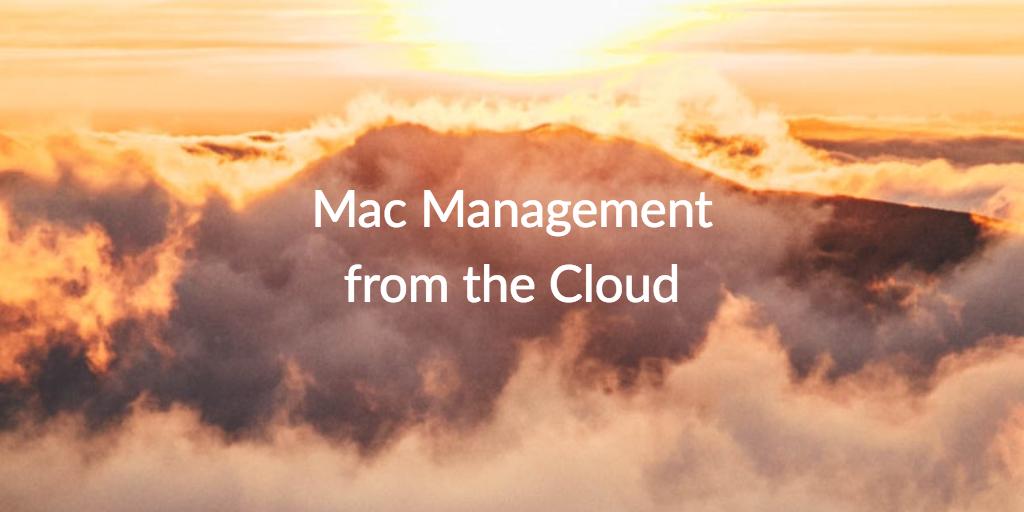 mac management cloud