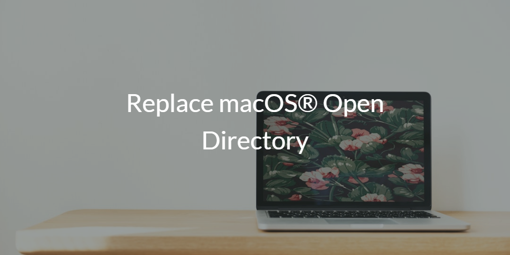 Replace macOS Open Directory