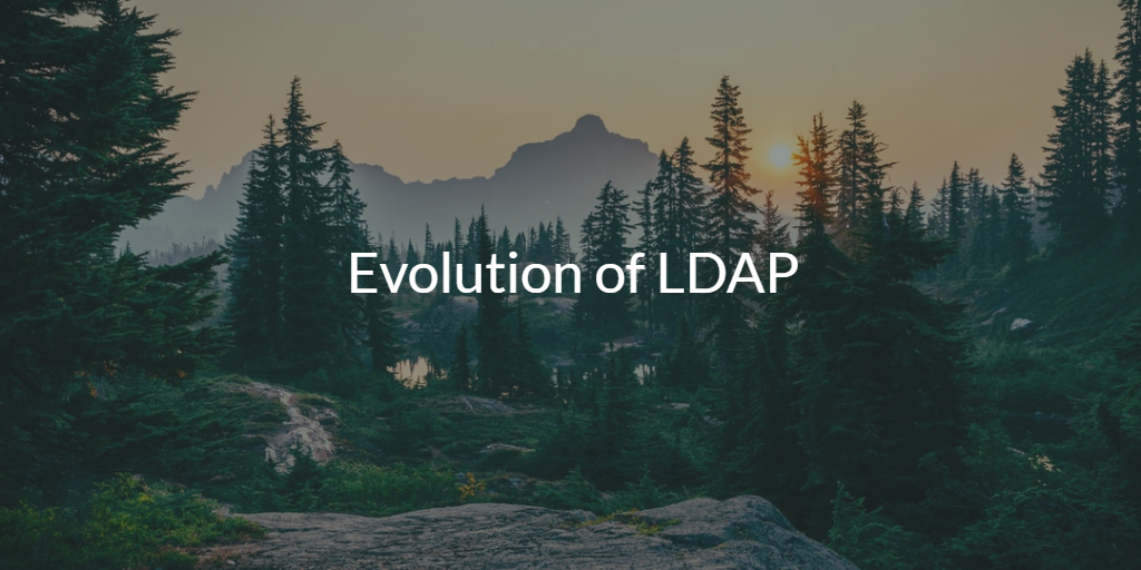 Evolution of LDAP