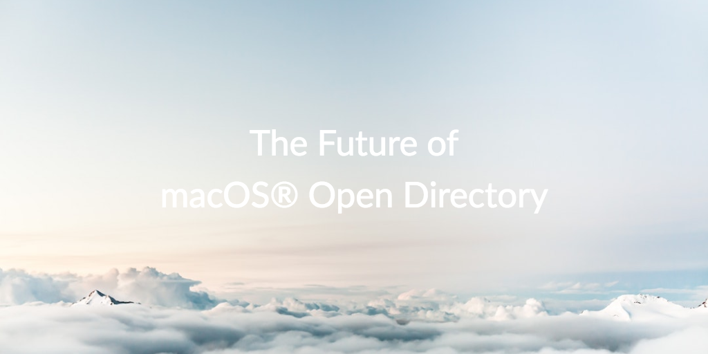 future macOS open directory