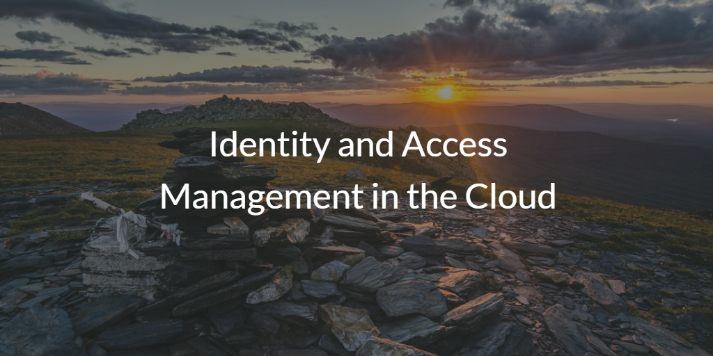 Identity and Access Management in the Cloud