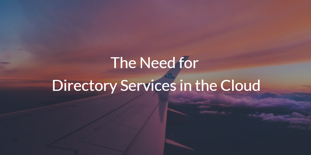 The Need for Director services in the cloud