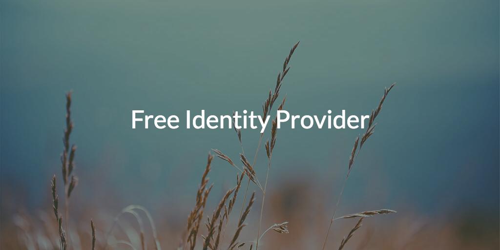 Free Identity Provider