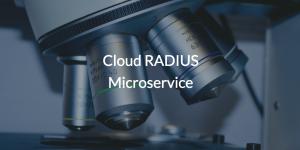 Cloud RADIUS Microservice