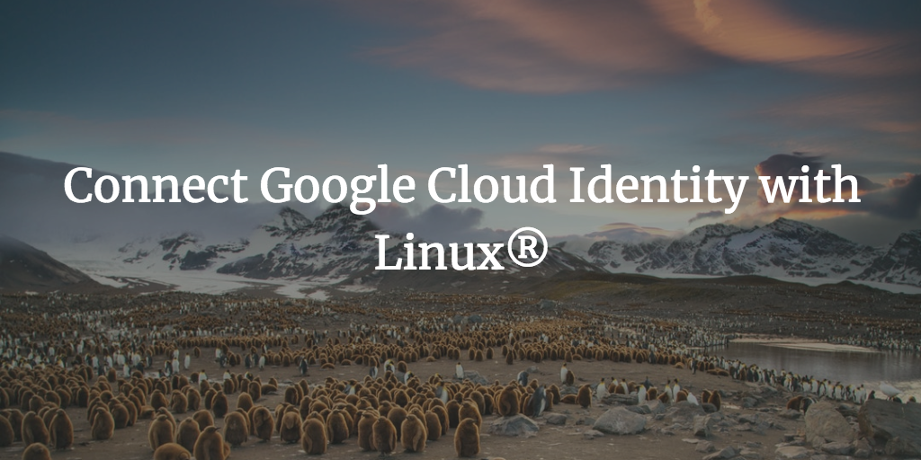 Connect Google Cloud Identity with Linux®