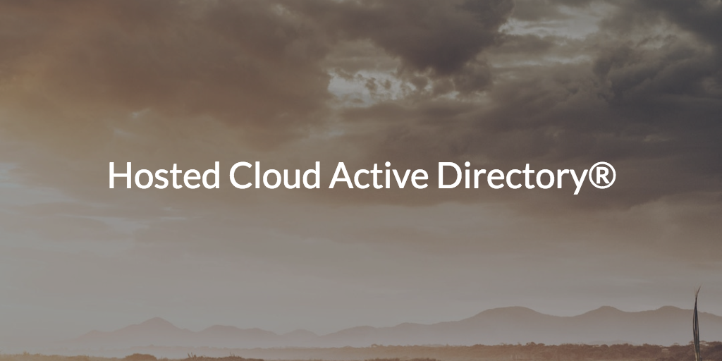 Hosted Cloud AD