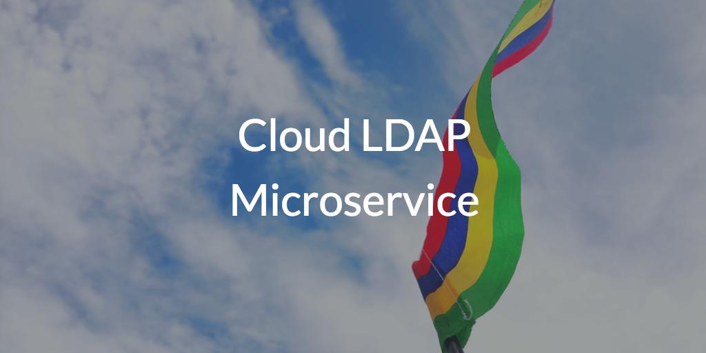 Cloud LDAP Microservice
