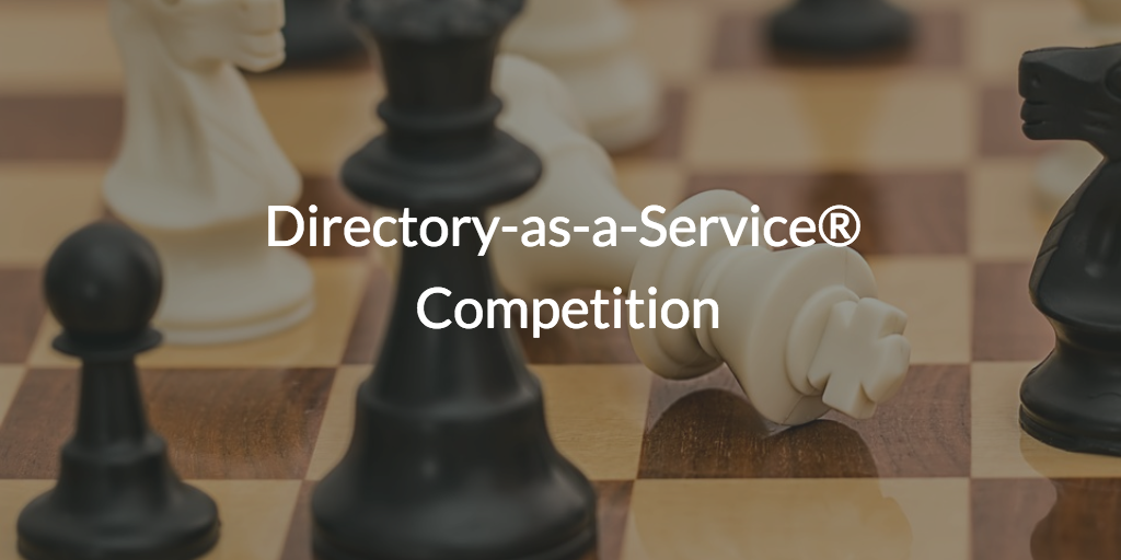 Directory-as-a-Service® Competition