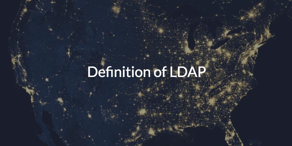 Defining LDAP
