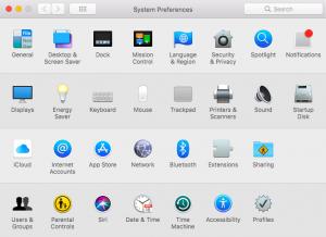 Reseting your Mac Password