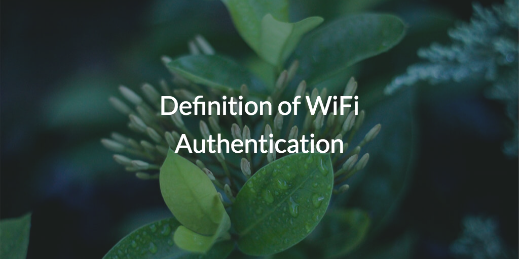 WiFi Authentication