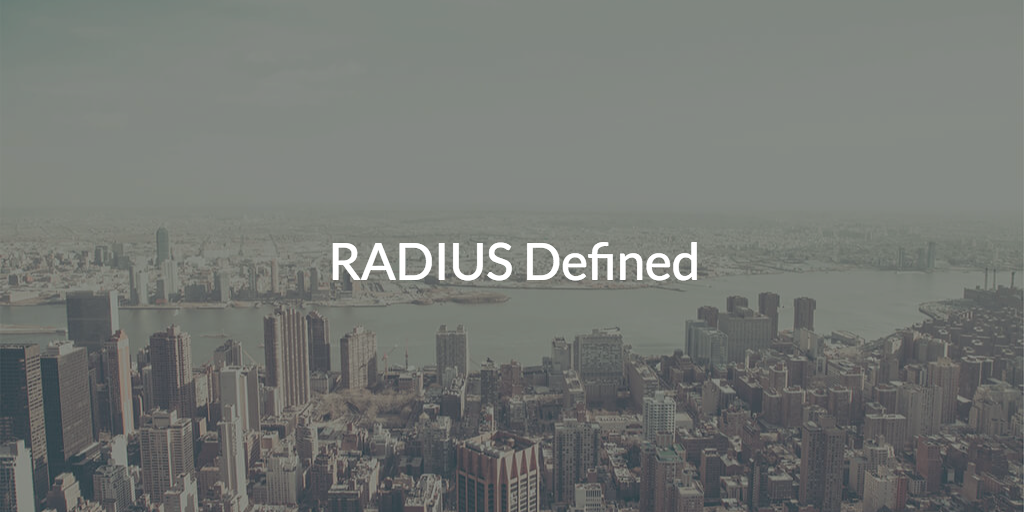 definitions of RADIUS network protocol